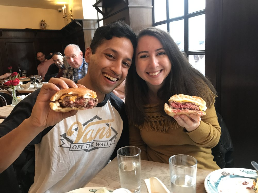 3. Peter Luger's Burgers - Peter Luger is known for pricey steaks, but we made a pilgrimage just for the burgers. It was absolutely worth it, and a much more economical way to get in the door and still celebrate a special occasion.