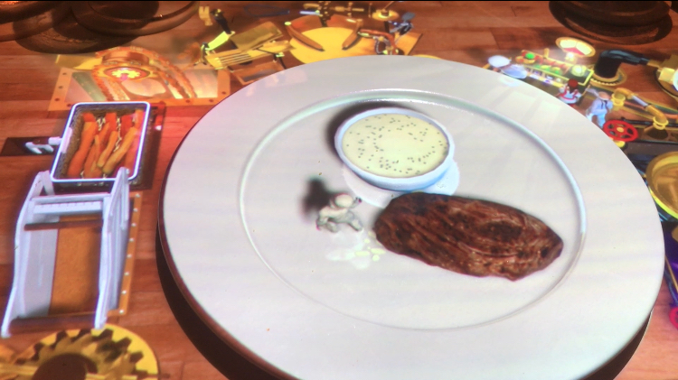 "8. Celebrity Cruise's Animated Meal - In probably my strangest food moment of 2018, I went on a short Celebrity Edge cruise with my family and dined at an interactive restaurant experience called ""Le Petite Chef"". The dining tables and plates were set up below projectors built into the ceiling. Before each course, an animated show danced on and next to our plates to tell the origin stories of each dish. See for yourself at this link."