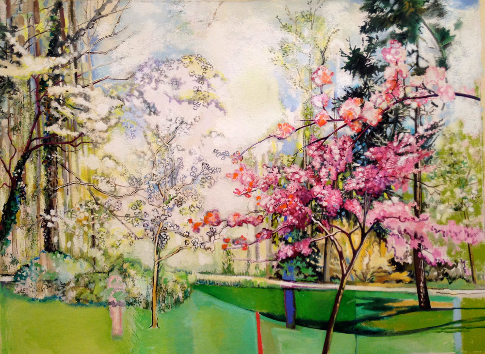 Spring Childhood Memories of Hobbs Road