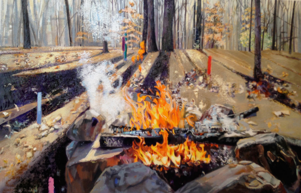 Burn in the Woods