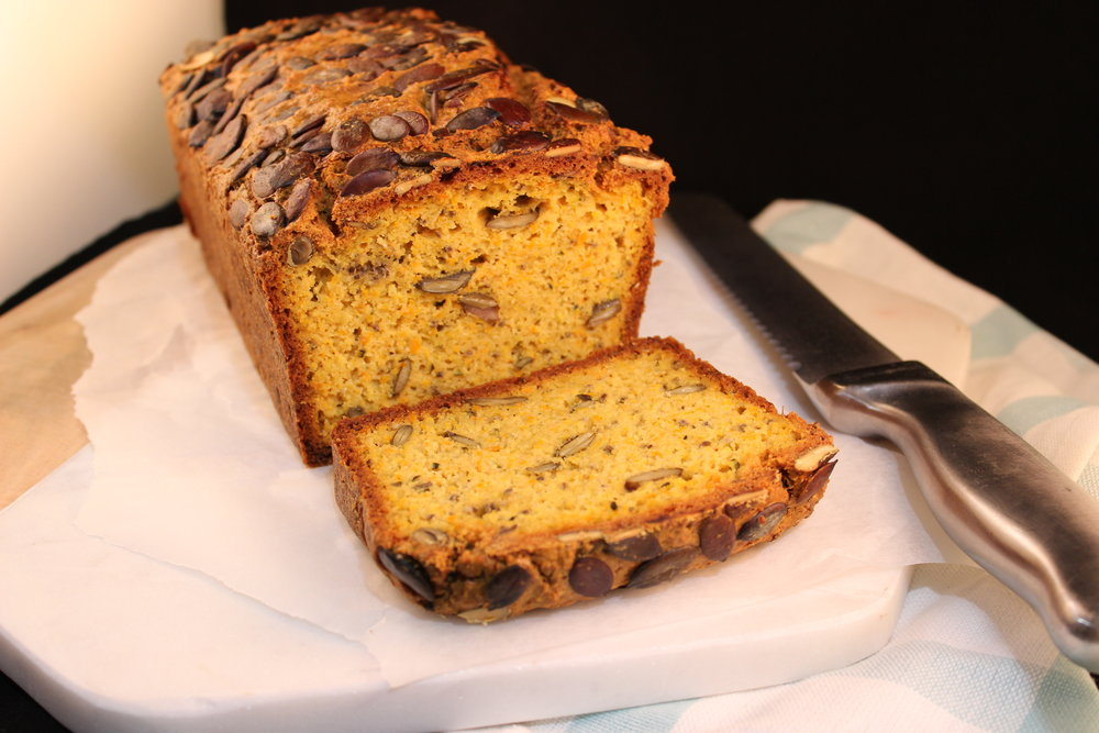 Paleo Pumpkin and Zucchini Bread