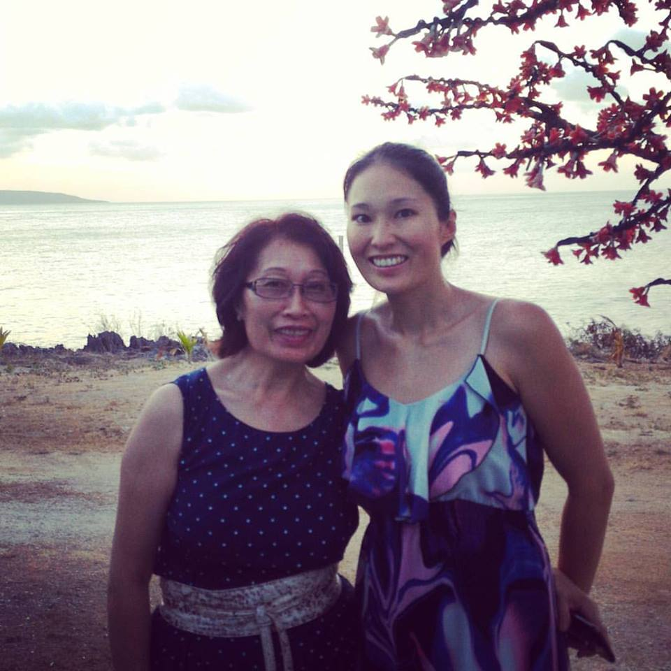 Mum and I in Christmas Island, October 2015