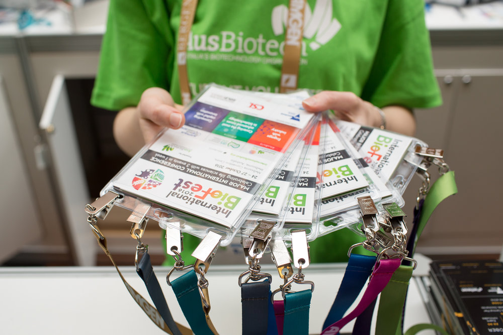 Sold - Lanyards - Member $15,000 - Non-member $20,000One of the most prominent packages available with your logo featured on the lanyards worn by all delegates throughout AusBiotech 2019.