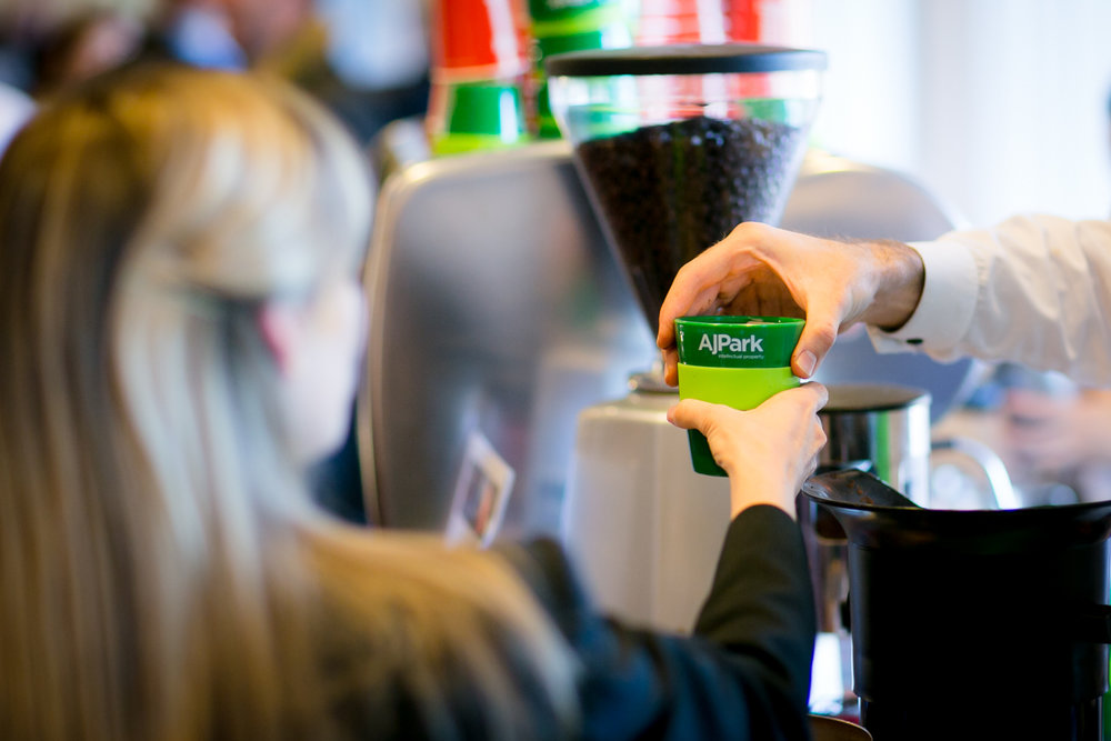 Barista coffee - Member $10,000 - Non-member $13,500Coffee is an integral part of every conference delegate's experience. Your brand will be prominently displayed on a printed panel on the coffee carts.