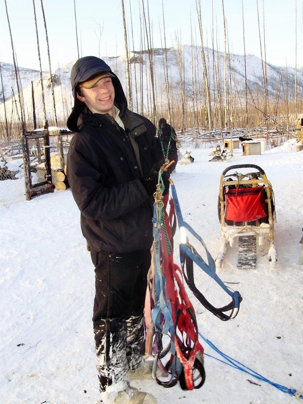 Matt Hall Dog Sled alaska yukon wilderness