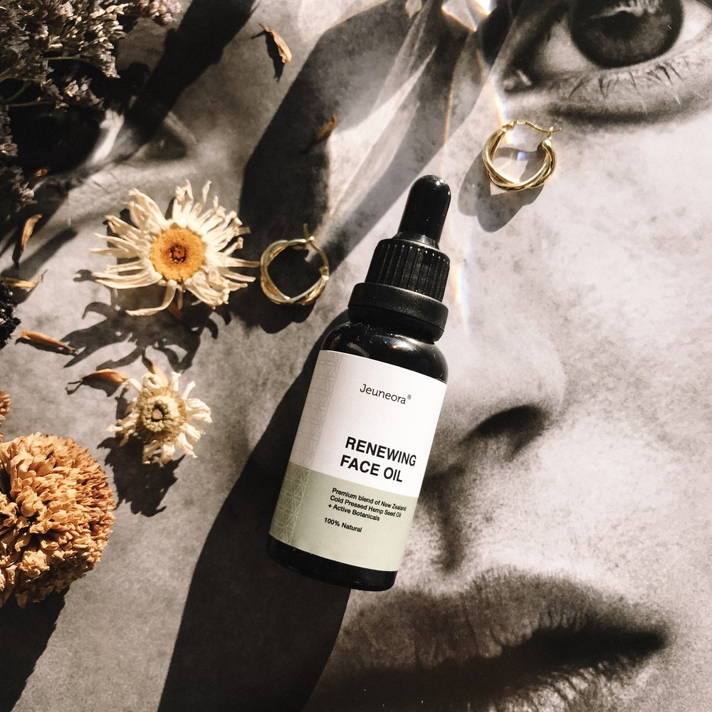 JEUNEORA HEMP OIL - Based on the healing and nourishing qualities of Hemp, this oil is incredibly natural and kiwi-made.