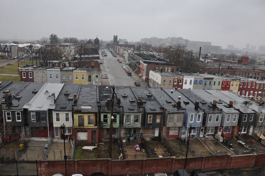 Community disinvestment in some of Baltimore low-income neighborhoods has created breeding grounds for mosquitoes.