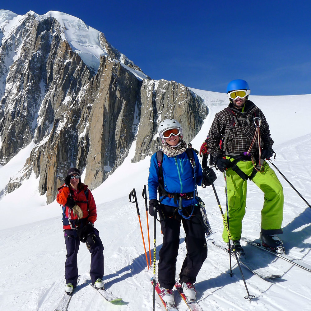 Breathtaking views on the ultra classic Vallee Blanche Mont Blanc .jpg
