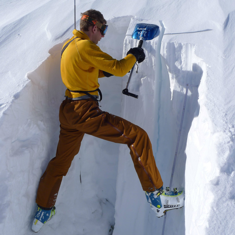 Studying the snow pack near La Grave French Alps.jpg