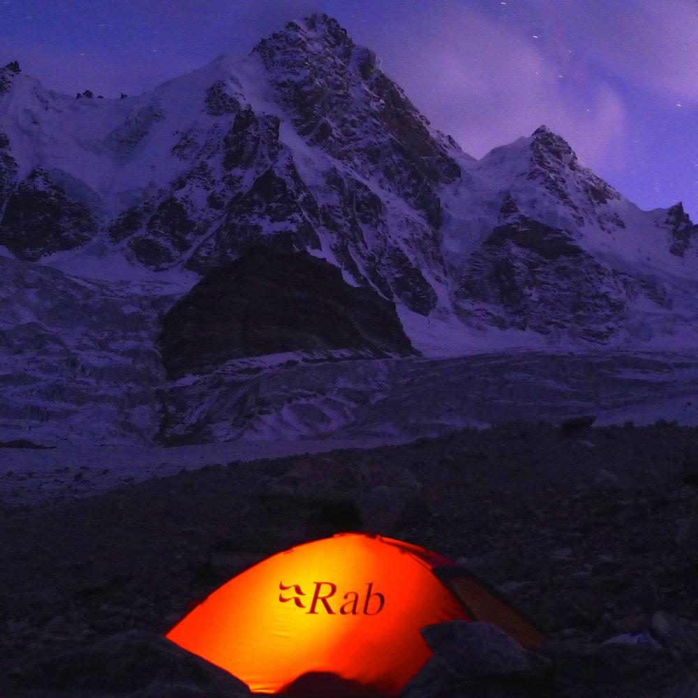 Raja Peak Camping opposite N face Indian Himalaya.jpg