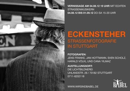 Einladungskarte zur Ausstellung