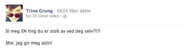 trinegrung.no facebook