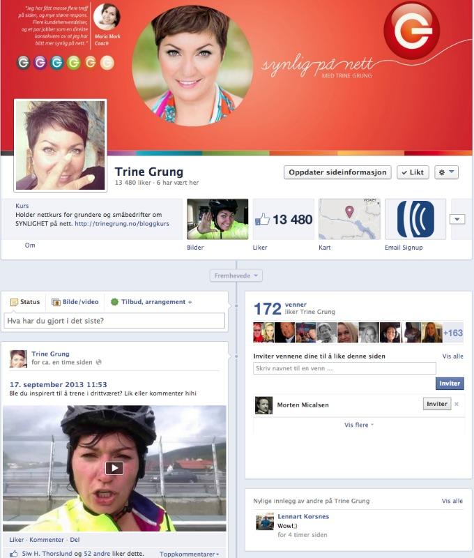 trinegrung facebook fanpage