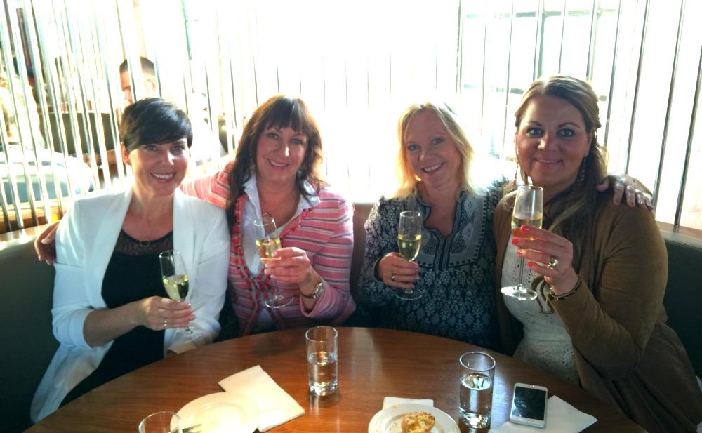 Suzette, Hanne, Kathrine og Line