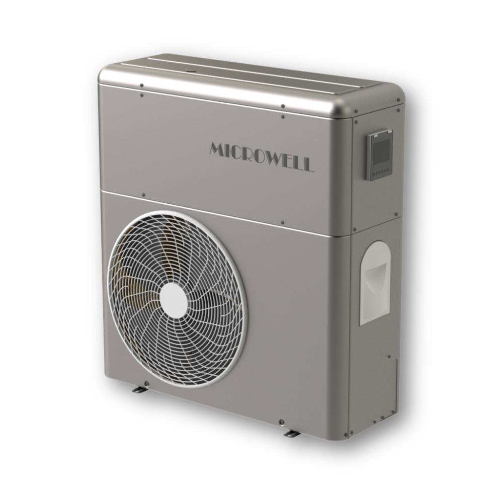 HP 1500 COMPACT PREMIUM - Hochleistungs-Wärmepumpe für Poolgrößen von 60 m³.