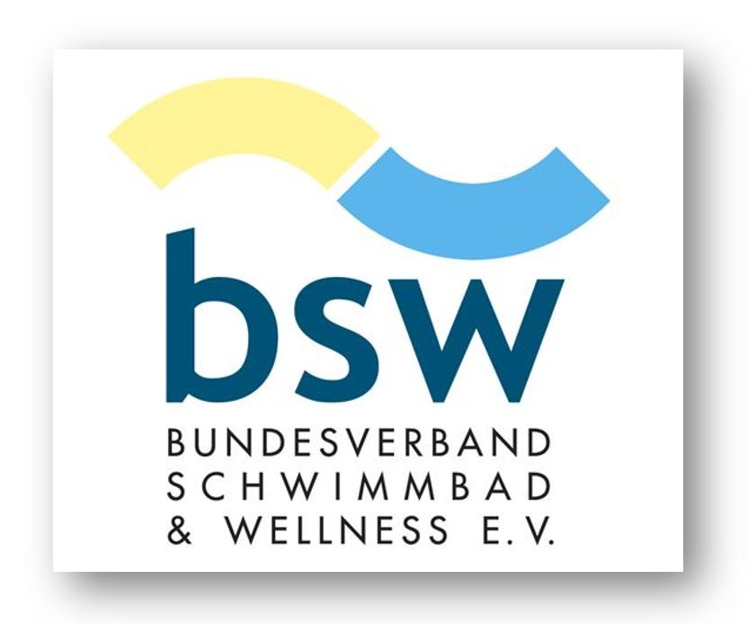 Offizielles Mitglied - Unsere Mitgliedschaft im Bundesverband Schwimmbad & Wellness E.V. bestätigt unsere höchsten Qualitätsstandards und Kundenfreundlichkeit.