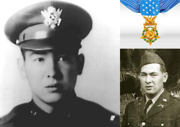 Francis Brown Wai  was a captain in the United States Army and received the Medal of Honor for actions during the recapture of the Philippines from Japan in 1944. On October 20, 1944, Wai landed on the Red Beach in the Philippines, he found the soldiers in the immediate area to be leaderless, disorganized, and pinned down on the open beach. Assuming command of the soldiers around him, his demeanor and example inspired the other men to follow him. With deliberate disregard for his own personal safety, he repeatedly advanced without cover to draw Japanese machine gun and rifle fire, thus exposing the locations of the entrenched Japanese forces. Systematically, the Japanese positions were assaulted and overcome. Wai was killed leading an assault against the last Japanese pillbox in the area. For his actions, Wai was posthumously awarded the Distinguished Service Cross. After an extensive review of awards in 2000, his medal was upgraded to the Medal of Honor. To date, Wai is the only Chinese American and one of only two non-Japanese Asian American officers to receive the medal.