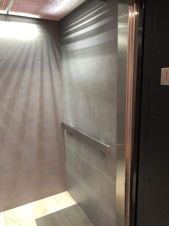 Elevator wrap 3M Di Noc vinyl