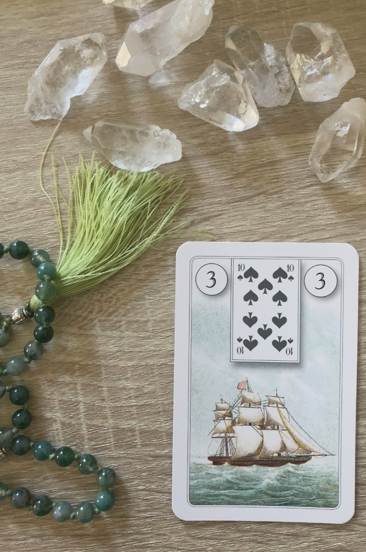 Lenormand Ship card meanings and interpretations. Learn how to read the Lenormand Ship card for general, love, business, money, health and other types of readings. The Ship card is also known as the Ship. In Lenormand decks, it can represent progress in relationships.