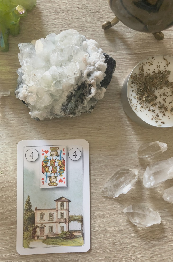 Lenormand House card meanings and interpretations. Learn how to read the Lenormand Home card for general, love, business, money, health and other types of readings. Home is also known as The House card in some decks and represents your relationships with those close to you.