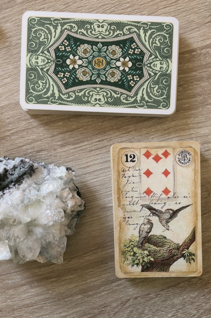Lenormand Birds card meanings and interpretations. Learn how to read the Lenormand Birds card for general, love, business, money, health and other types of readings. In Lenormand decks, Birds is a card which represents small talk and social media relationships.
