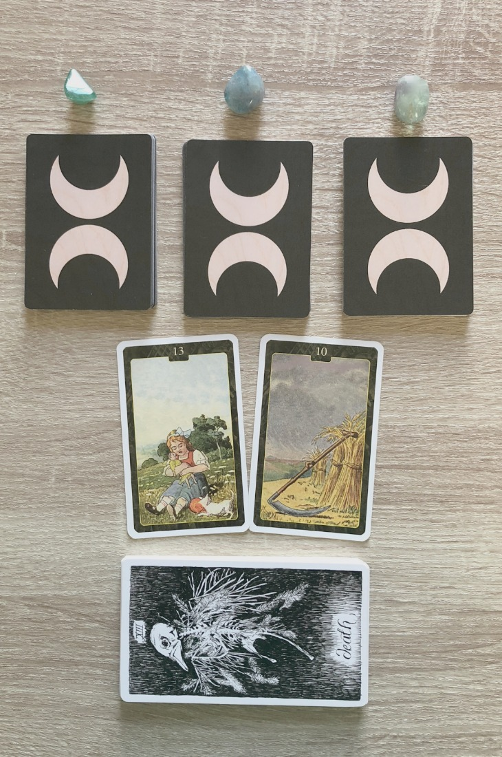 Lenormand Child card combinations and interpretations. Learn how to combine the Lenormand Child card for general, love, business, money, health and other types of readings. Here is how to combine Child with Heart, Bouquet, Snake, Dog and other cards in your deck.