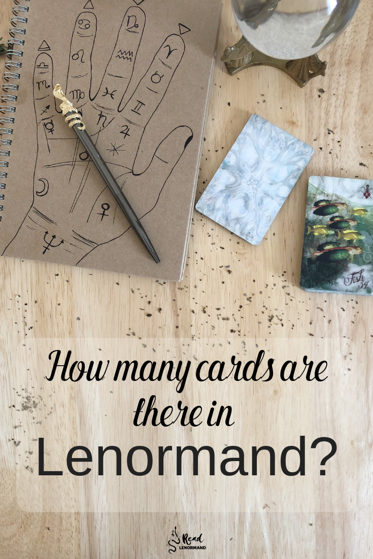 Lenormand Deck Questions: How many cards should there be in your Lenormand deck? If you wish to be a fortune teller with Lenormand cards, which cards should be in there? Here is a beginners guide to the Lenormand deck.
