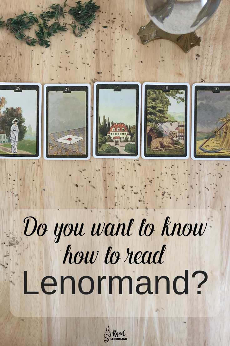 Blog: Do you want to learn Lenormand cards? Are you dying to read Lenormand cards but you do not know where to start? Would you like a step by step guide for reading Lenormand cards so that you can start making predictions about your life, love, and relationships? Well, do not worry because I am going to explain step by step what you need to do to learn how to read Lenormand cards!