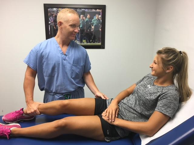 athletic trainer tim o'donnell specializes in lower limb injuries