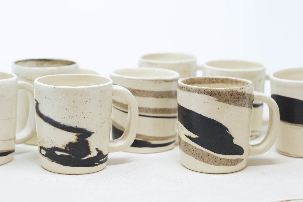 hand thrown ceramics + glaze