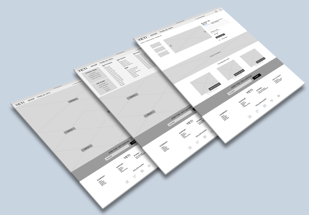 INFORMATION ARCHITECTURE WEBSITE REDESIGN -