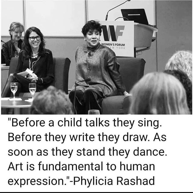 And this is why art matters. 🙌🏾👩🏽🎨#artsmatter #artseducation #youtharts @realphyliciarashad