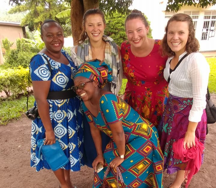 The ELCA also shares its message through action, service in and to the world. Here young adults participate in Young Adults in Global Mission (YAGM) in Rwanda.
