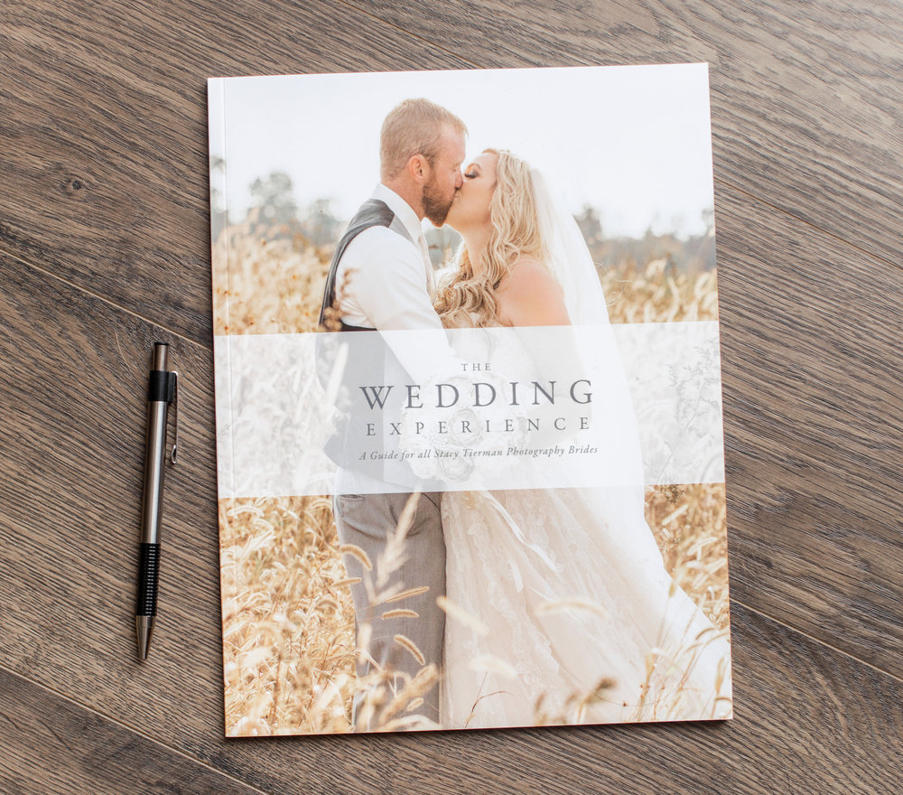 Every wedding package includes a 72 page digital wedding guide magazine - This guide covers everything from the engagement session to reception with helpful tips and tricks to make planning for your wedding photography easier