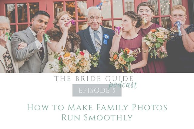 Family formals are an essential, but sometimes chaotic, part of the wedding day timeline.  Use the tips mentioned in this week's episode of The Bride Guide Podcast to make sure your family photos run smoothly! 🎙⠀⠀⠀⠀⠀⠀⠀⠀⠀ .⠀⠀⠀⠀⠀⠀⠀⠀⠀ .⠀⠀⠀⠀⠀⠀⠀⠀⠀ .⠀⠀⠀⠀⠀⠀⠀⠀⠀ .⠀⠀⠀⠀⠀⠀⠀⠀⠀ .⠀⠀⠀⠀⠀⠀⠀⠀⠀ #brideguide #thebrideguide #thebrideguidepodcast #weddingpodcast #weddingplanning #newepisode #newpodcast #familyphotos #familyformals
