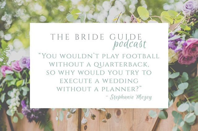 This week on the podcast is an episode featuring wedding planner, Stephanie Mezey, that covers all the things a wedding planner can do to help your wedding dreams come to life!  Stay tuned! 🎙⠀⠀⠀⠀⠀⠀⠀⠀⠀ .⠀⠀⠀⠀⠀⠀⠀⠀⠀ .⠀⠀⠀⠀⠀⠀⠀⠀⠀ .⠀⠀⠀⠀⠀⠀⠀⠀⠀ .⠀⠀⠀⠀⠀⠀⠀⠀⠀ .⠀⠀⠀⠀⠀⠀⠀⠀⠀ #brideguide #thebrideguide #thebrideguidepodcast #weddingpodcast #weddingplanning #weddingplanner #njweddingplanner