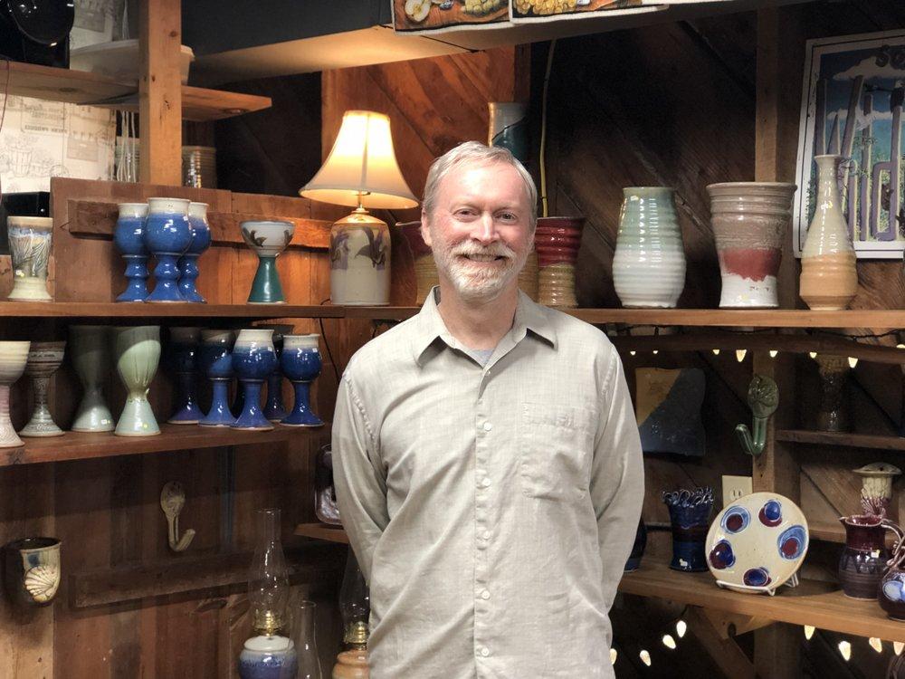 Matt Henderson has been making pottery for 38 years!