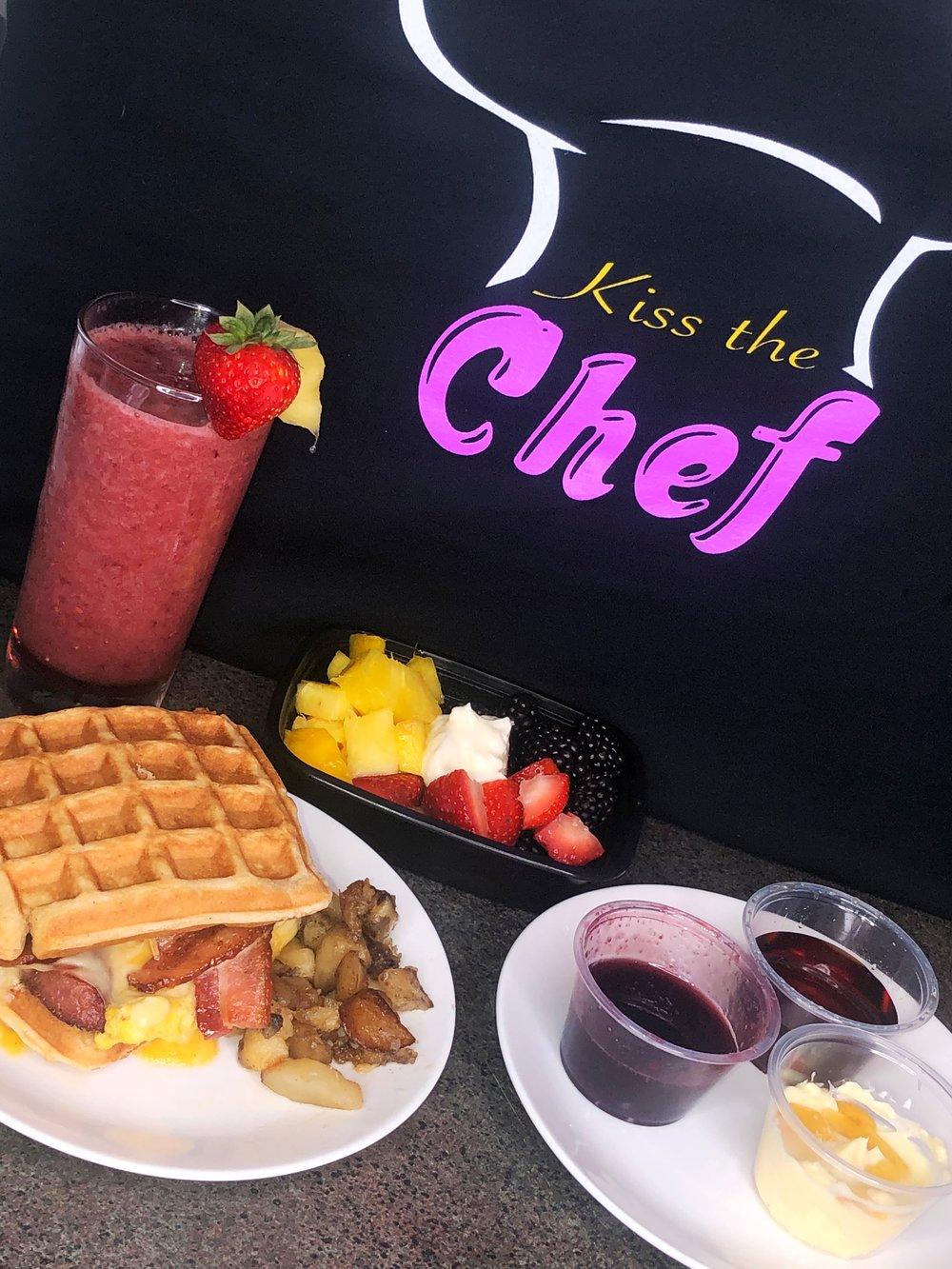 Boujee breakfast combo