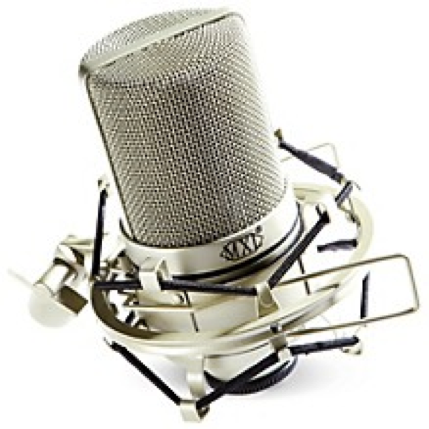 MXL-990 Condenser Mic with Shock Mount, cost: $99