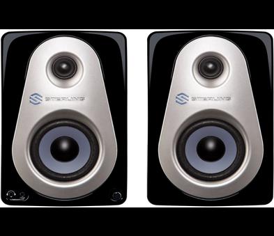 "Sterling Audio MX3 3"" Powered Studio Monitor Pair, cost: $99"