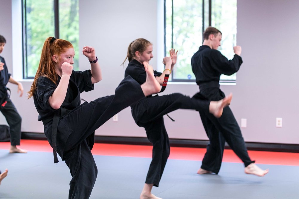 Karate Classes for Teenage Girls and Boys in Bedford Massachusetts at Callahan's Karate 1.jpg