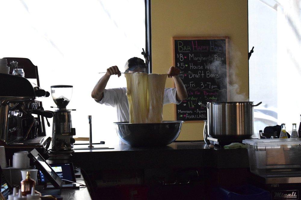 Alessandro Makes Mozzarella at Macoletta