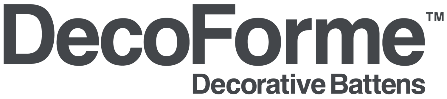 DecoForme™ Decorative Battens