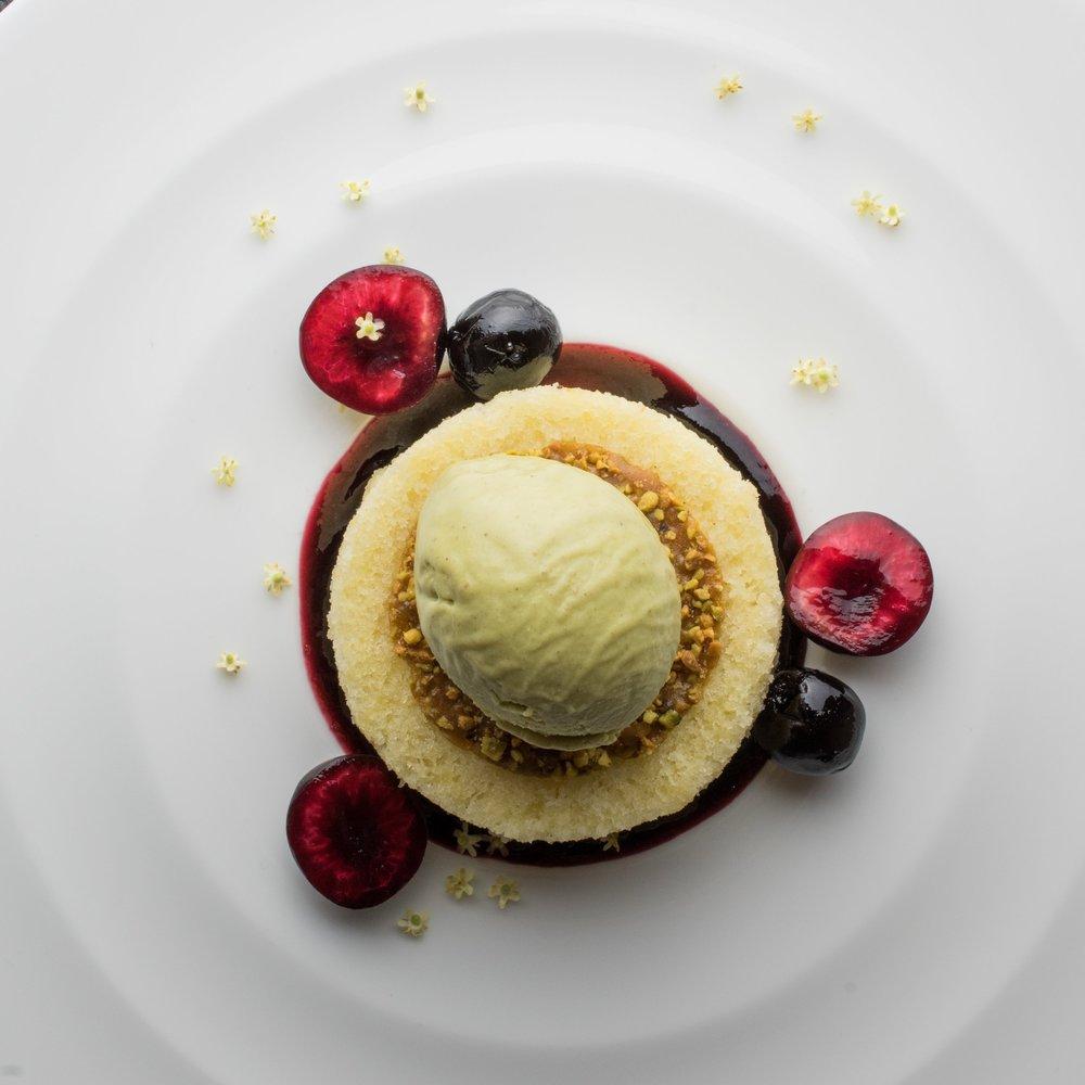 Pistachio Cherry Mascarpone