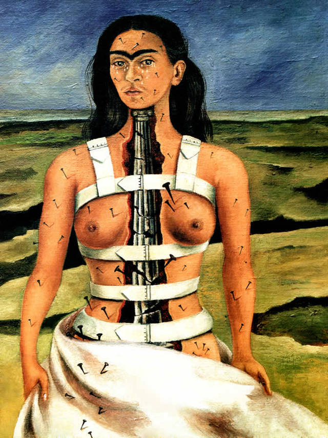 Frida Kahlo, The Broken Column, 1944.