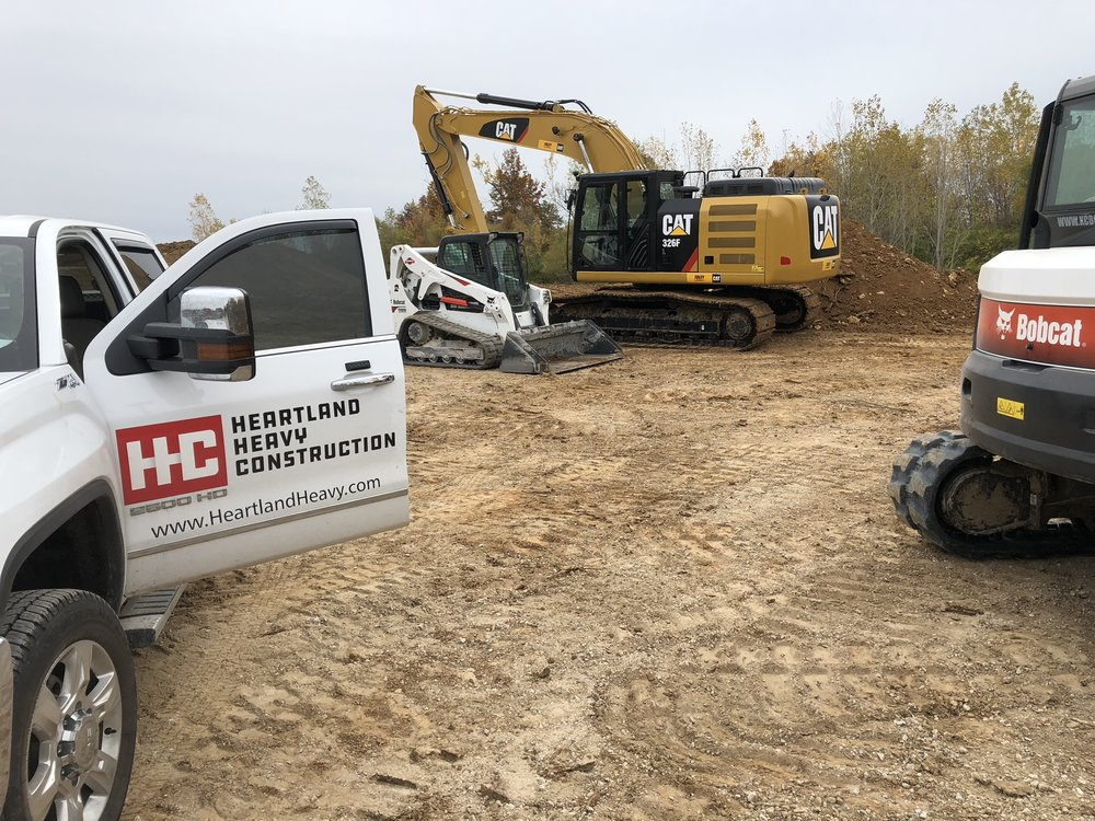 Heartland Heavy Construction - Heartland Heavy Construction, headquartered in Kansas City, Missouri is your solution to excavation, demolition, material recycling, and underground utility installation throughout Greater Kansas City.
