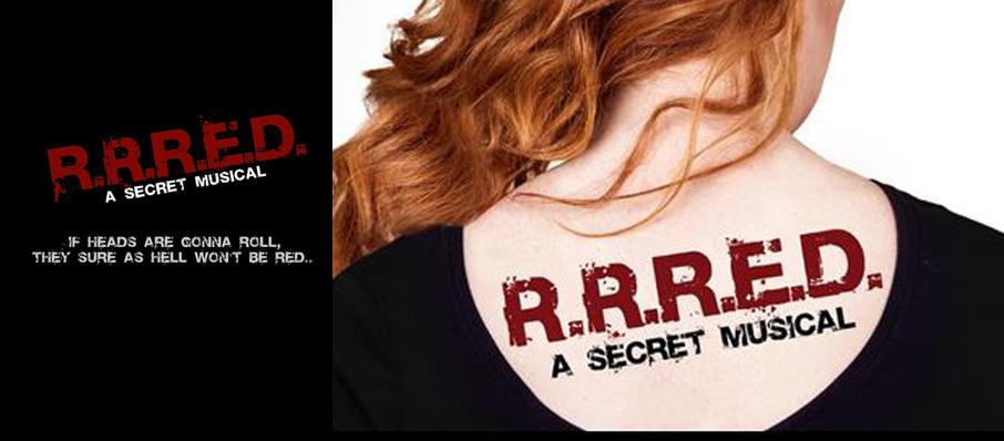 R.R.R.E.D. the musical Off Broadway at Daryl Roth