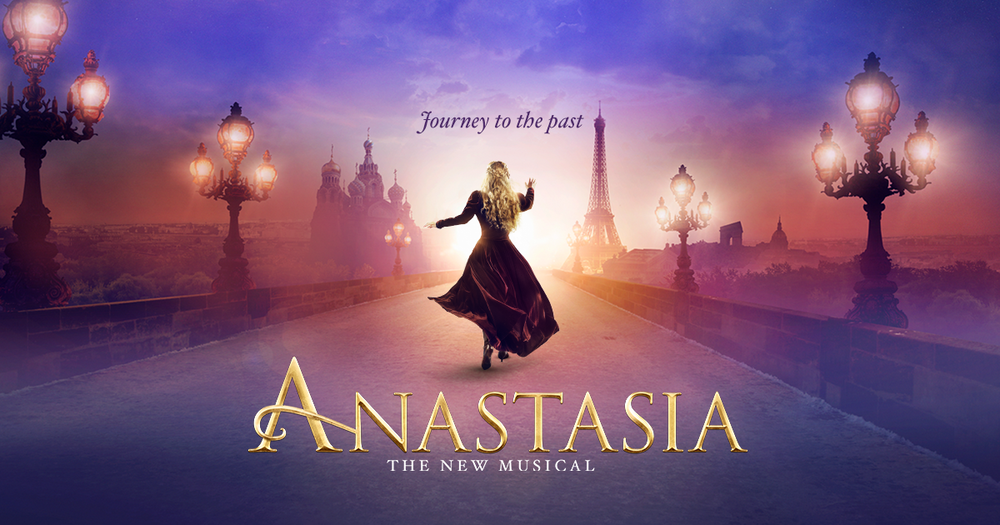 Anastasia the musical on Broadway at the Broadhurst Theater