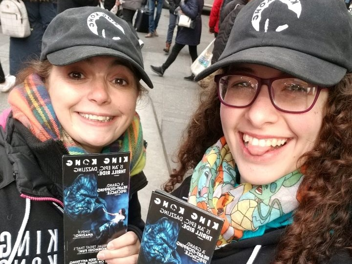 Our street team at work on the streets of NYC!