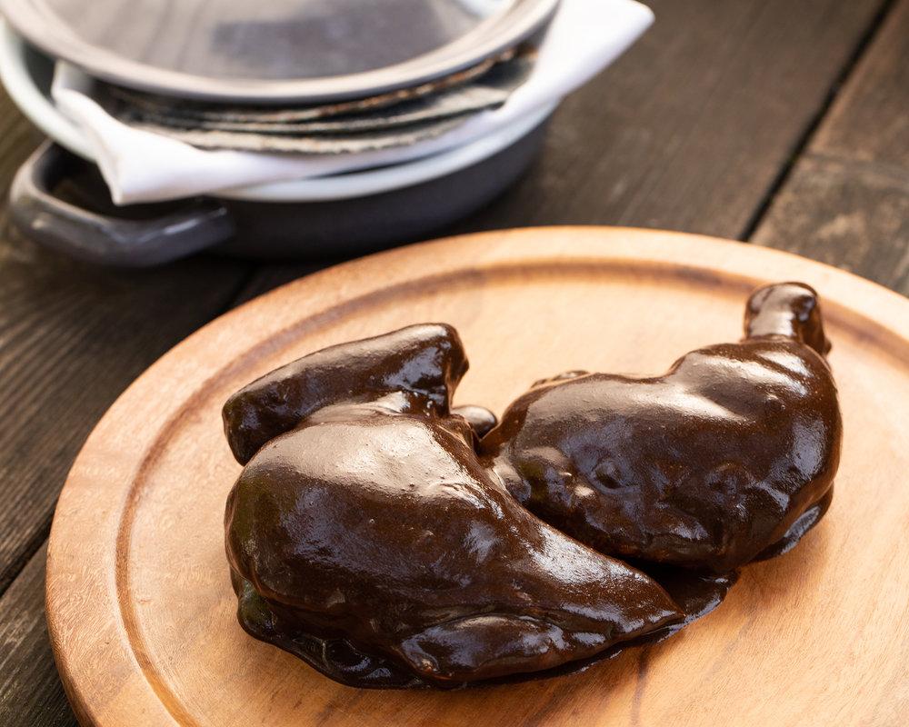 Pollo en Mole Negro